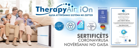 Therapy Air Certificate